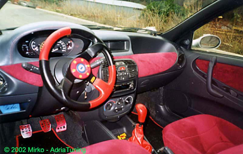 Adria tuning lancia y by mirko for Lancia y momo design interni