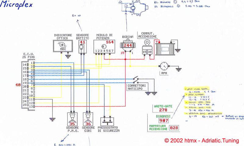 Schema Elettrico Lancia Y : Schema elettrico contagiri lancia y fare di una mosca