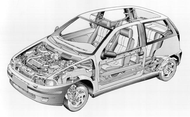 Schema Elettrico Subwoofer Fiat Punto : Adria tuning la mia punto gt dati tecnici